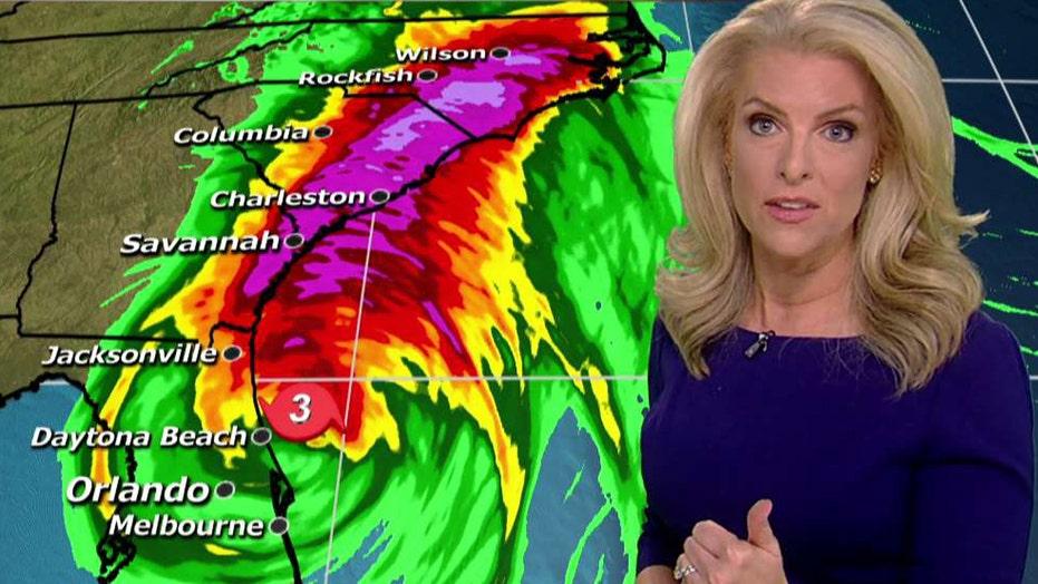 Storm surge feared as Hurricane Matthew crawls north