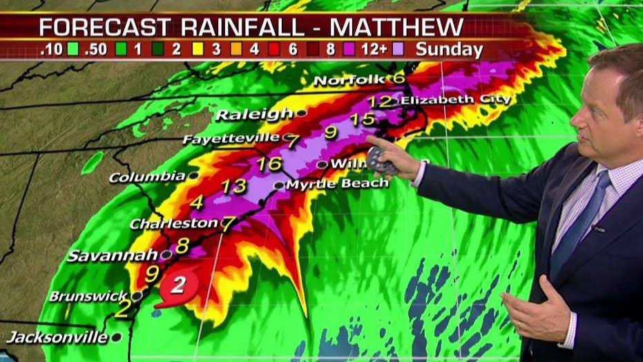 NHC releases update on Hurricane Matthew