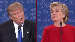 Republican presidential nominee Donald Trump wanted a strong debate performance Sunday night against Democrat rival Hillary Clinton to reignite his campaign, but the emergence of a damaging audiotape this week is adding to his now uphill challenge.