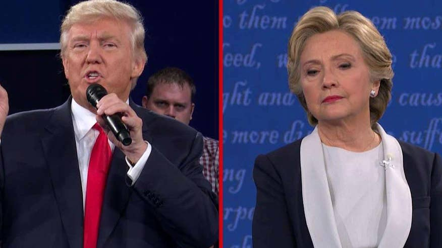 Donald Trump and Hillary Clinton debate the war in Syria, Russia and defeating ISIS