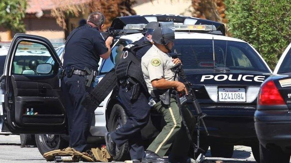 Suspect arrested in murder of two Cali. police officers