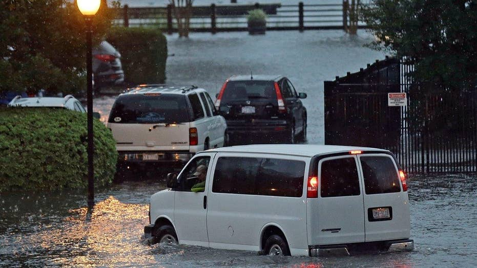 Severe flooding impacts Charleston after Hurricane Matthew