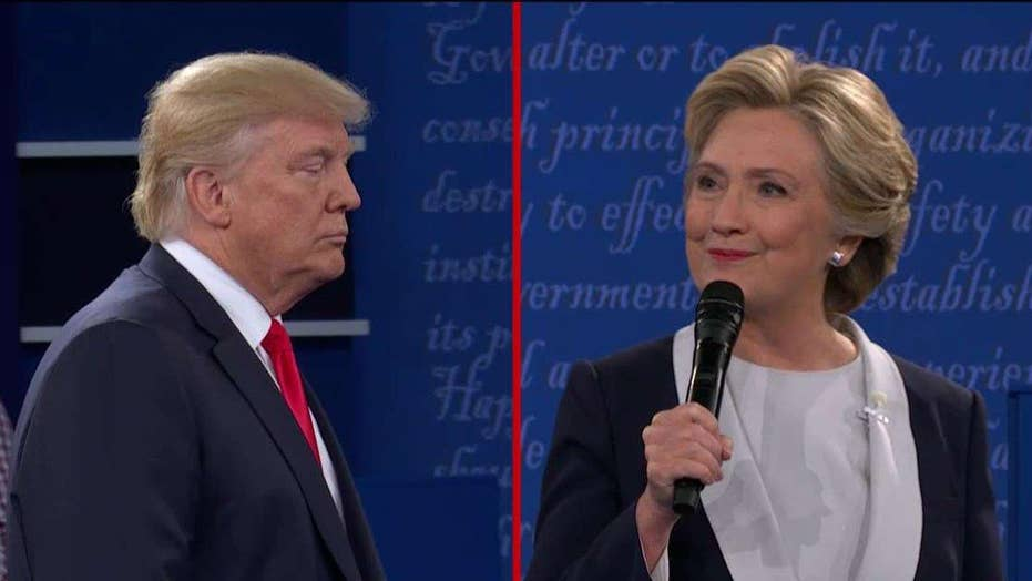 'One on three'? Trump takes issue with debate moderators