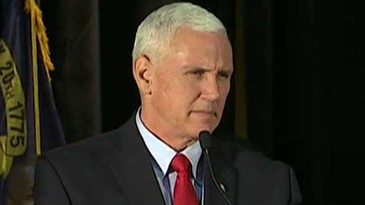 Mike Pence: I'm proud to stand with Donald Trump