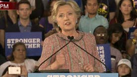 Hillary Clinton addresses climate change in Florida