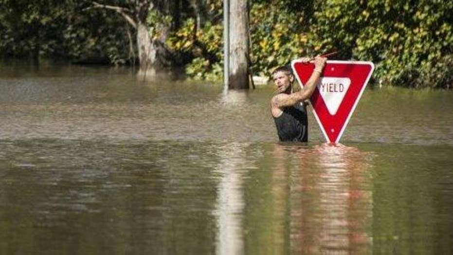 Flooding continues in aftermath of Hurricane Matthew