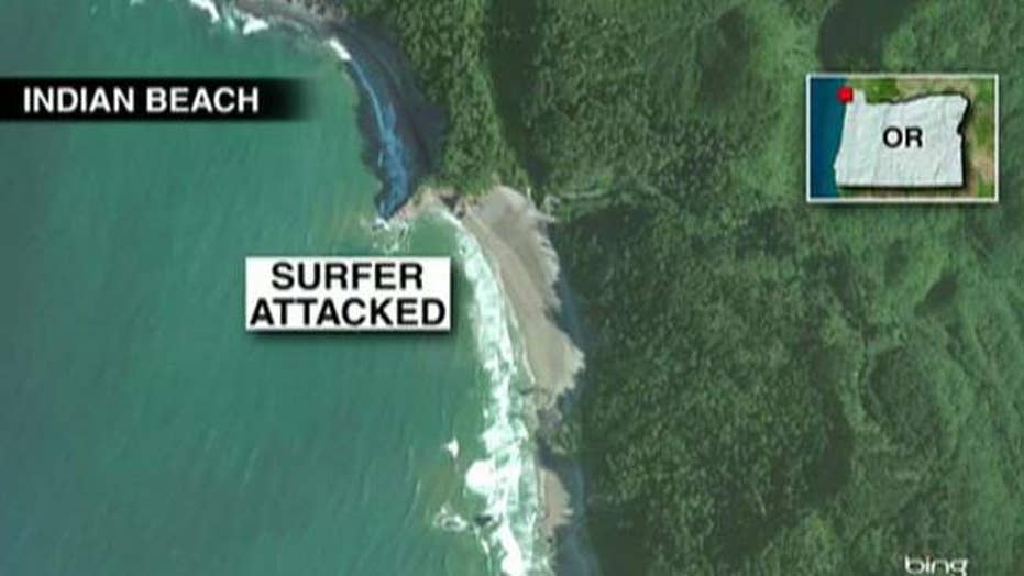 Shark viciously attacks trauma nurse off coast of Oregon