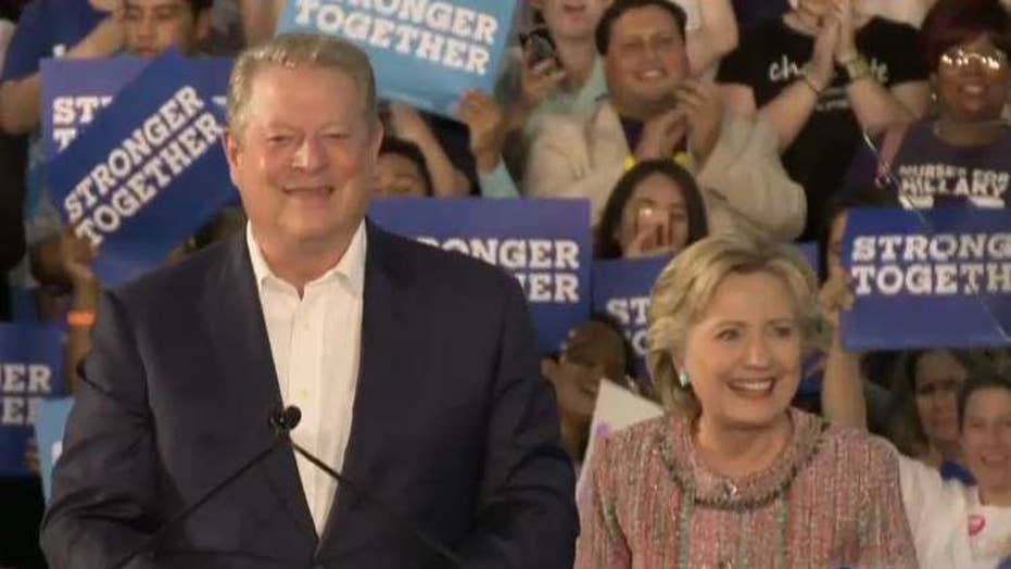Gore: Clinton will make solving climate crisis top priority