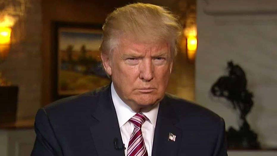Donald Trump on taking 'shackles' off campaign