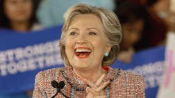 """The Trump campaign called Wednesday for Hillary Clinton to fire top advisers over emails, published by WikiLeaks, that appeared to mock politically conservative Catholics and push for a """"Catholic Spring"""" from within."""