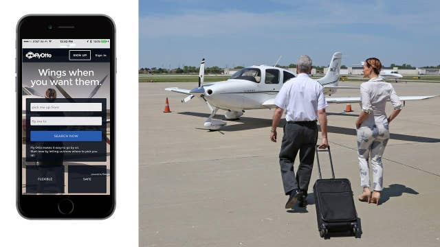 Uber for private airplanes?