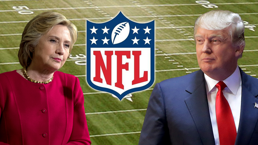 NFL sees double-digit drop in ratings, league blames 'unprecedented attention' around Trump-Clinton presidential election, skeptics eye #BoycottNFL movement aimed at Kaepernick national anthem protest as culprit for major decline in viewership