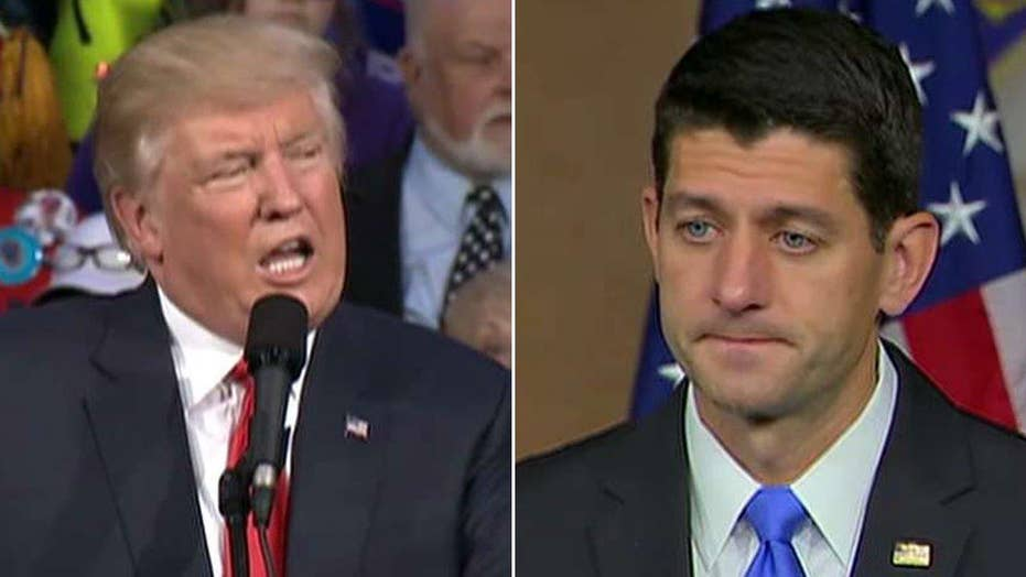 Trump on Ryan: I don't want his support