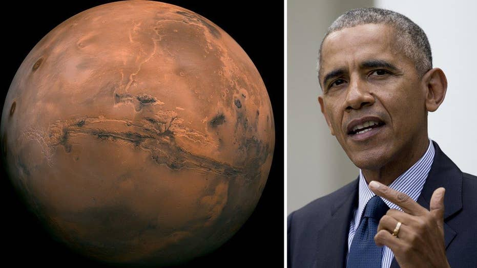 Obama makes big push to bring humans to Mars by 2030s