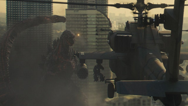 Is Godzilla a metaphor for the United States?