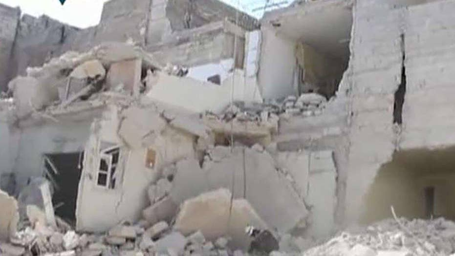 Report: Over 65 killed in 3-day wave of Aleppo airstrikes