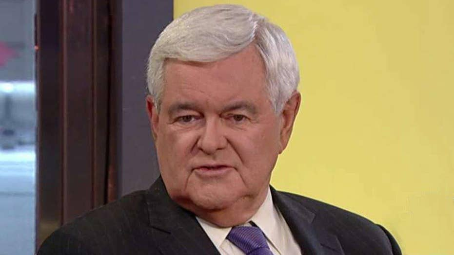 Newt Gingrich advises Donald Trump to 'stay big'