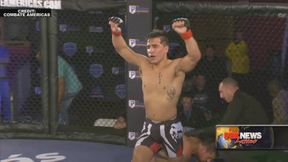 MMA fighter Gustavo Lopez talks Combate Americas