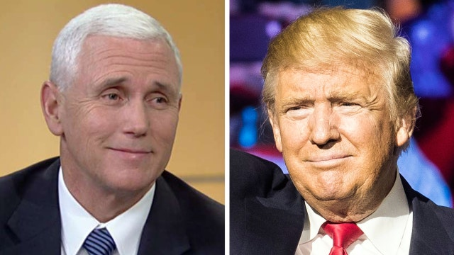 Pence: Overwhelming majority of Republicans stand with Trump