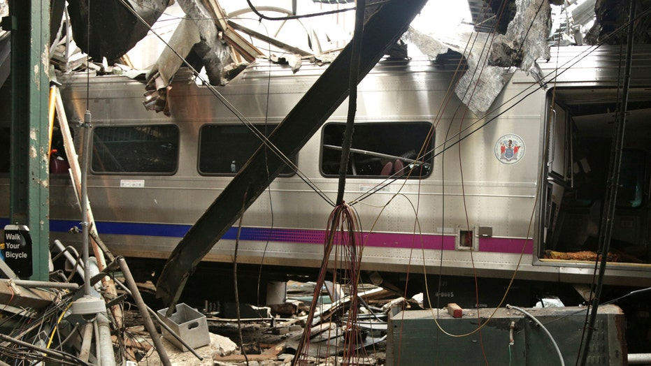 Report: Crashed NJ train was going triple the speed limit