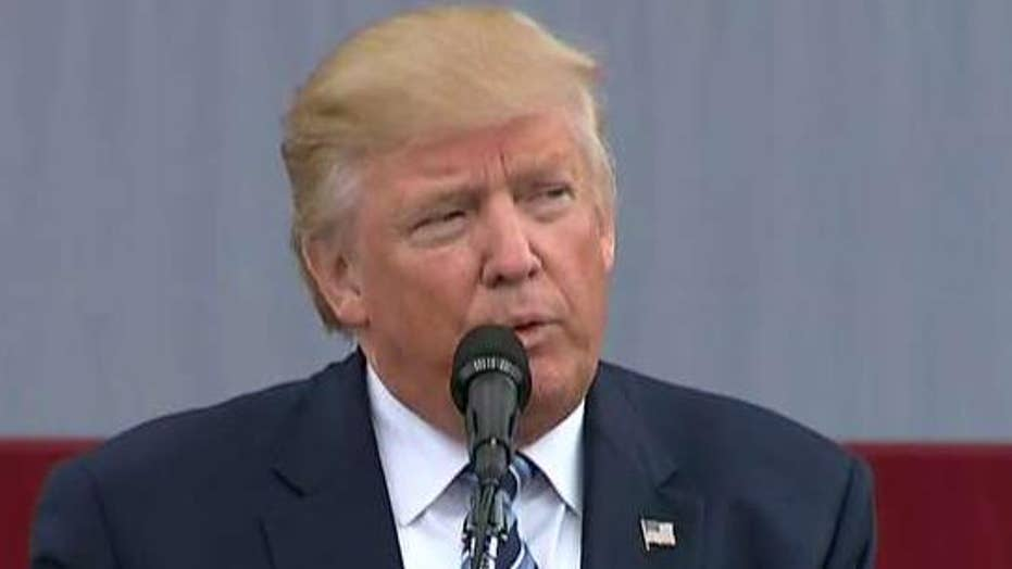 Donald Trump: This whole election is being rigged