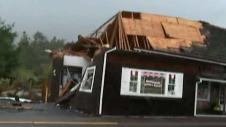Pacific Northwest hit by severe storms as Southeast recovers