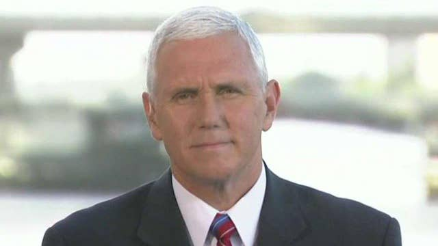Mike pence responds to allegations against donald trump on air