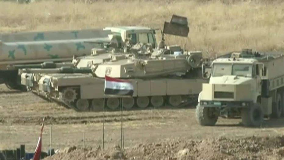 Iraqi PM: Offensive to retake Mosul from ISIS under way