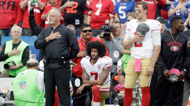 Kaepernick's return bombs, claims he's 'patriotic'
