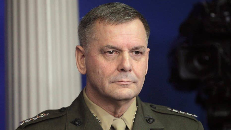 Retired general charged for making false statements