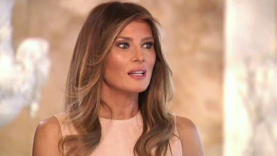 Melania Trump goes one-on-one