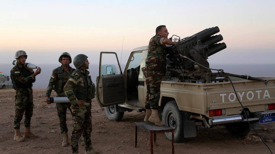 Iraqi forces launch battle for Mosul with US assistance
