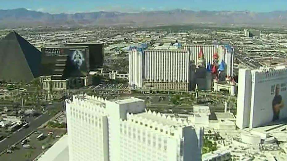 Bret Baier gets a view of Las Vegas from above