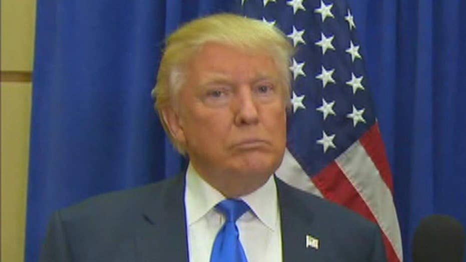 Donald Trump on Clinton emails, party unity, voter fraud