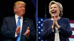 Hillary Clinton remains ahead of Donald Trump with just three weeks until Election Day.