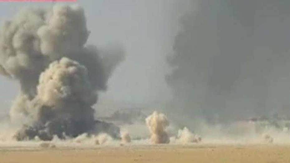 Iraq reports progress in fight for Mosul