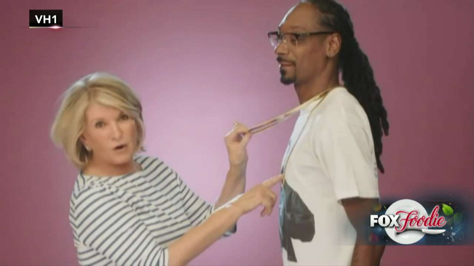 Snoop Dogg and Martha Stewart to host new food show