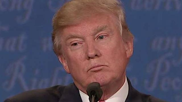 Trump on abiding by election: I'll look at it at the time