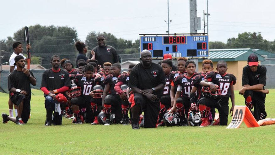 Texas youth football team loses season over national anthem protest