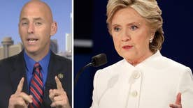 On 'America's Election Headquarters,' Arizona sheriff Paul Babeu reacts to Trump and Clinton clashing over immigration in the final debate