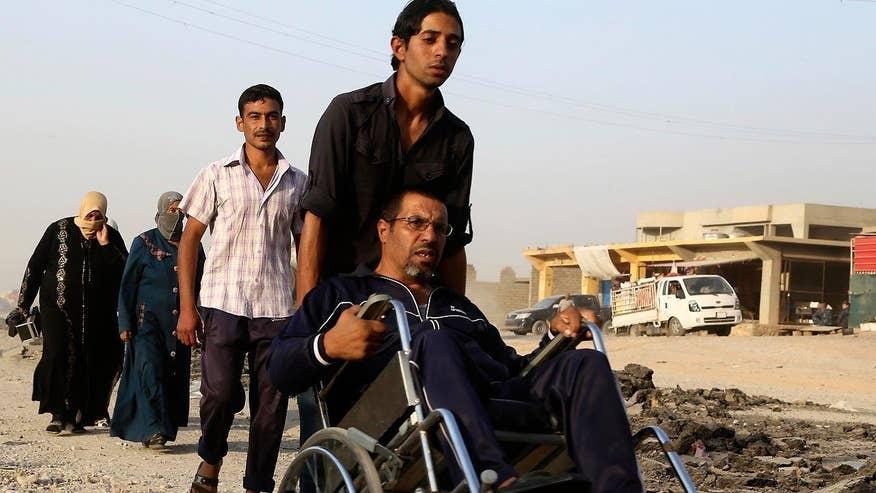 Benjamin Hall reports from Irbil, Iraq