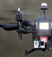 Drones could protect cops from far away