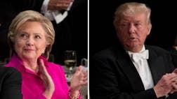 Presidential nominees make battleground push