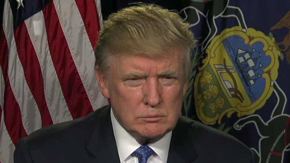 Donald Trump explains his 'rigged system' claims