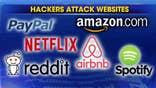 Hackers overloaded, crashed servers