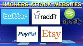 Bryan Llenas reports on one of the largest cyberattacks ever seen