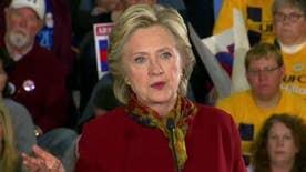Clinton fires back at Trump's comments