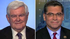 Gingrich, Becerra debate policy specifics
