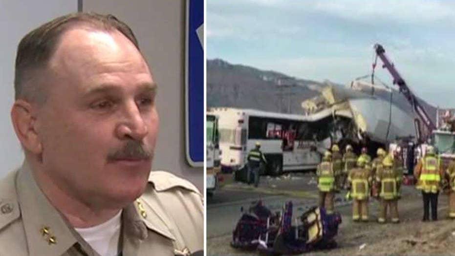 Highway patrol: 13 people killed in bus crash