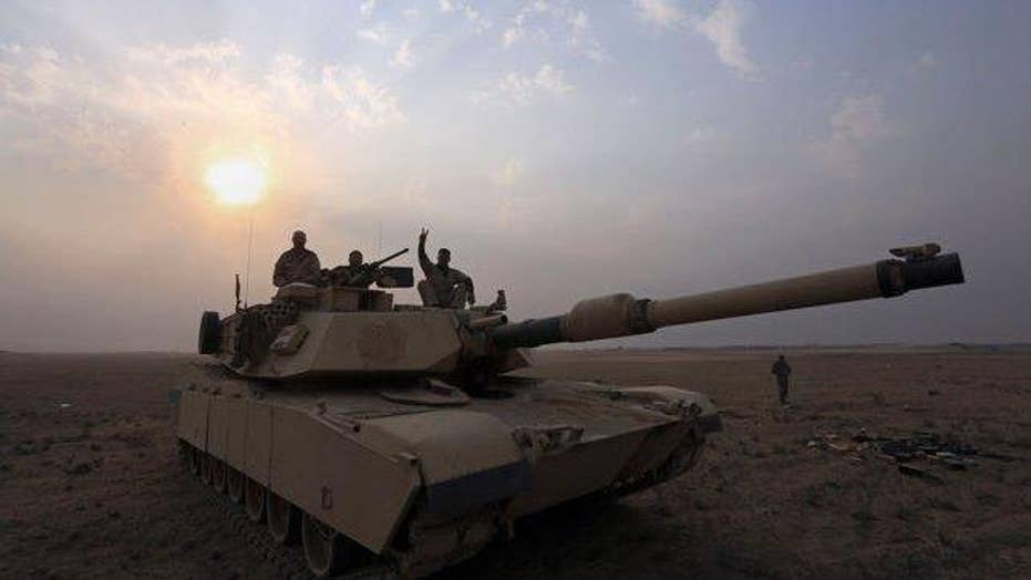 Iraqi forces shell ISIS positons near Mosul